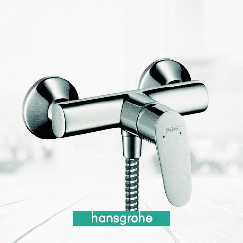 Mitigeur de la marque HANSGROHE FOCUS E2, série haut de gamme pour votre douche.